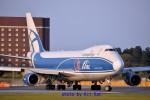 キットカットさんが、成田国際空港で撮影したエアブリッジ・カーゴ・エアラインズ 747-4HAF/ER/SCDの航空フォト(飛行機 写真・画像)