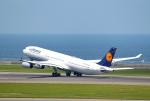mojioさんが、中部国際空港で撮影したルフトハンザドイツ航空 A340-311の航空フォト(飛行機 写真・画像)