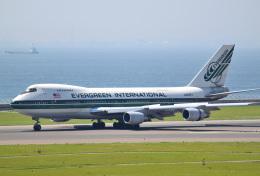 mojioさんが、中部国際空港で撮影したエバーグリーン航空 747-230BM(SF)の航空フォト(飛行機 写真・画像)