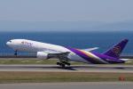 yabyanさんが、中部国際空港で撮影したタイ国際航空 777-2D7の航空フォト(飛行機 写真・画像)
