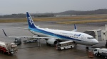昔撮り鉄さんが、岡山空港で撮影した全日空 737-881の航空フォト(飛行機 写真・画像)