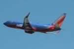 uhfxさんが、サンフランシスコ国際空港で撮影したサウスウェスト航空 737-7K9の航空フォト(飛行機 写真・画像)