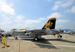 雲霧さんが、厚木飛行場で撮影したアメリカ海軍 F/A-18E Super Hornetの航空フォト(飛行機 写真・画像)