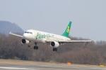 TAK_HND_NRTさんが、高松空港で撮影した春秋航空 A320-214の航空フォト(飛行機 写真・画像)