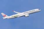 mameshibaさんが、羽田空港で撮影した日本航空 A350-941XWBの航空フォト(飛行機 写真・画像)