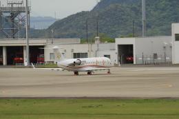 TAK_HND_NRTさんが、高松空港で撮影したTAG エイビエーション・アジア CL-600-2B19 Challenger 850の航空フォト(飛行機 写真・画像)
