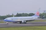 TAK_HND_NRTさんが、高松空港で撮影したチャイナエアライン 737-809の航空フォト(飛行機 写真・画像)
