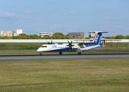 銀苺さんが、伊丹空港で撮影したANAウイングス DHC-8-402Q Dash 8の航空フォト(飛行機 写真・画像)