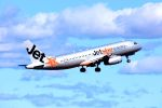 まいけるさんが、シドニー国際空港で撮影したジェットスター A320-232の航空フォト(飛行機 写真・画像)