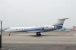 髪刈虫(かみきりむし)さんが、名古屋飛行場で撮影したU S BANK NA G-V-SP Gulfstream G550の航空フォト(飛行機 写真・画像)