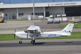 TAK_HND_NRTさんが、高松空港で撮影した学校法人ヒラタ学園 航空事業本部 172S Skyhawk SPの航空フォト(飛行機 写真・画像)