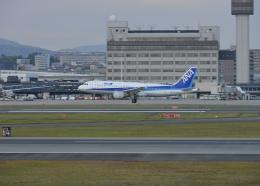 銀苺さんが、伊丹空港で撮影した全日空 A320-211の航空フォト(飛行機 写真・画像)