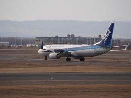 ここはどこ?さんが、新千歳空港で撮影した全日空 737-881の航空フォト(飛行機 写真・画像)