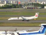 Gripen-YNさんが、伊丹空港で撮影した日本エアコミューター DHC-8-402Q Dash 8の航空フォト(飛行機 写真・画像)