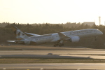 ANA744Foreverさんが、成田国際空港で撮影したエティハド航空 787-9の航空フォト(飛行機 写真・画像)