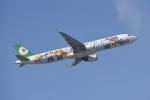 kumagorouさんが、那覇空港で撮影したエバー航空 A321-211の航空フォト(飛行機 写真・画像)