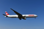sonnyさんが、成田国際空港で撮影したスイスインターナショナルエアラインズ 777-3DE/ERの航空フォト(飛行機 写真・画像)