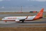 T.Kawaseさんが、関西国際空港で撮影したチェジュ航空 737-8Q8の航空フォト(飛行機 写真・画像)