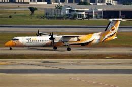 航空フォト:HS-DQE ノックエア DHC-8-400