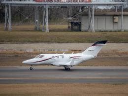 名無しの権兵衛さんが、新潟空港で撮影した朝日航洋 HA-420の航空フォト(飛行機 写真・画像)