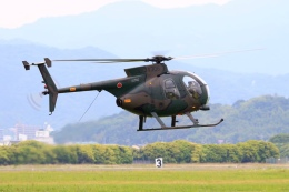 aki241012さんが、防府北基地で撮影した陸上自衛隊 OH-6Dの航空フォト(飛行機 写真・画像)