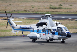 CL&CLさんが、奄美空港で撮影した海上保安庁 AS332L1 Super Pumaの航空フォト(飛行機 写真・画像)