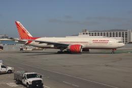 uhfxさんが、サンフランシスコ国際空港で撮影したエア・インディア 777-237/LRの航空フォト(飛行機 写真・画像)