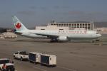 uhfxさんが、サンフランシスコ国際空港で撮影したエア・カナダ 767-375/ERの航空フォト(飛行機 写真・画像)