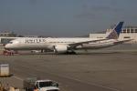 uhfxさんが、サンフランシスコ国際空港で撮影したユナイテッド航空 787-9の航空フォト(飛行機 写真・画像)