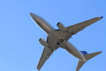 TAK_HND_NRTさんが、広島空港で撮影したユナイテッド航空 737-724の航空フォト(飛行機 写真・画像)