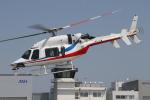 ゴンタさんが、奈多ヘリポートで撮影した西日本空輸 427の航空フォト(飛行機 写真・画像)