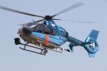 ゴンタさんが、奈多ヘリポートで撮影した福岡県警察 EC135P2+の航空フォト(飛行機 写真・画像)