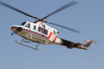 ゴンタさんが、奈多ヘリポートで撮影した西日本空輸 412EPの航空フォト(飛行機 写真・画像)