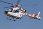 ゴンタさんが、奈多ヘリポートで撮影した朝日新聞社 MD 900/902の航空フォト(飛行機 写真・画像)