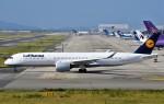鉄バスさんが、関西国際空港で撮影したルフトハンザドイツ航空 A350-941の航空フォト(飛行機 写真・画像)