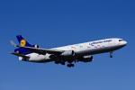 Frankspotterさんが、フランクフルト国際空港で撮影したルフトハンザ・カーゴ MD-11Fの航空フォト(飛行機 写真・画像)