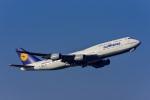 Frankspotterさんが、フランクフルト国際空港で撮影したルフトハンザドイツ航空 747-830の航空フォト(飛行機 写真・画像)