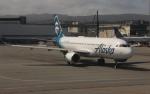 uhfxさんが、サンフランシスコ国際空港で撮影したアラスカ航空 A320-214の航空フォト(飛行機 写真・画像)