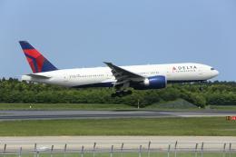 銀苺さんが、成田国際空港で撮影したデルタ航空 777-232/LRの航空フォト(飛行機 写真・画像)