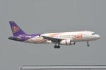 kuro2059さんが、香港国際空港で撮影したタイ・スマイル A320-232の航空フォト(飛行機 写真・画像)