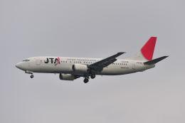 ポン太さんが、羽田空港で撮影した日本トランスオーシャン航空 737-4Q3の航空フォト(飛行機 写真・画像)