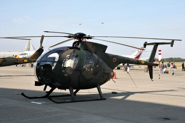 もぐ3さんが、八戸航空基地で撮影した陸上自衛隊 OH-6Dの航空フォト(飛行機 写真・画像)
