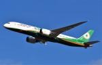 鉄バスさんが、成田国際空港で撮影したエバー航空 787-9の航空フォト(飛行機 写真・画像)
