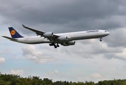 mojioさんが、成田国際空港で撮影したルフトハンザドイツ航空 A340-642の航空フォト(飛行機 写真・画像)