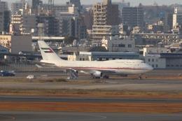 OS52さんが、羽田空港で撮影したドバイ・ロイヤル・エア・ウィング 747-422の航空フォト(飛行機 写真・画像)
