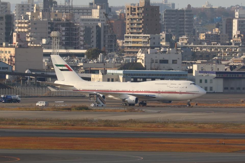 OS52さんのドバイ・ロイヤル・エア・ウィング Boeing 747-400 (A6-HRM) 航空フォト
