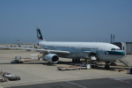 LEGACY-747さんが、関西国際空港で撮影したキャセイパシフィック航空 A330-343Xの航空フォト(飛行機 写真・画像)