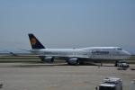 LEGACY-747さんが、関西国際空港で撮影したルフトハンザドイツ航空 747-430の航空フォト(飛行機 写真・画像)