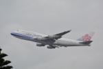 LEGACY-747さんが、台湾桃園国際空港で撮影したチャイナエアライン 747-409の航空フォト(飛行機 写真・画像)