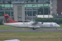 LEGACY-747さんが、台北松山空港で撮影したトランスアジア航空 ATR-72-500 (ATR-72-212A)の航空フォト(飛行機 写真・画像)